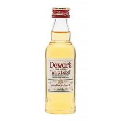Miniatura Whisky White Label 192uDewar s White Label es un whisky blend producido en Escocia por Dewar s resultado de la mezcla