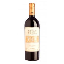 Vino Tinto Vatan ArenaEste Vino Tinto Vatan Arena es elaborado con uvas 100 de Tinta de Toro procedentes de los vinedos de Finc