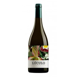 Vino Blanco Luculo Ecologico Fermentado en Barrica monovarietal elaborado con uva Garnacha Blanca por la bodega La Casa de Lucu