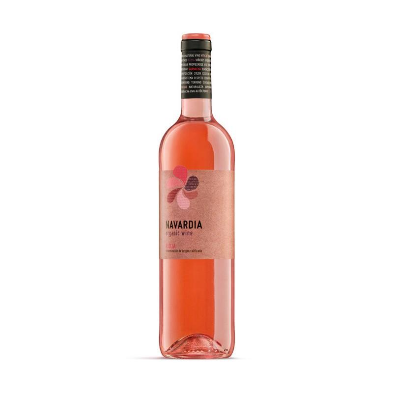 Vino Rosado Navardia EcologicoEl Vino Rosado Navardia Ecologico perteneciente a la DO Ca Rioja de Bodegas Bagordi posee unas va