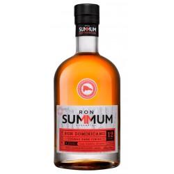 Ron Dominicano 12 Summum Finnished Barrica de Cognac Normadin MercierSummum Cognac es el resultado de un doble envejecido con b
