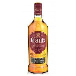 WHISKY ESCOCES GRANTSGrant s es un blended whisky escoces elaborado por William Grant Sons Ltd Este producto tiene una base de