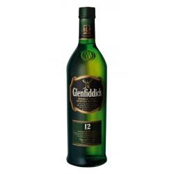 WHISKY GLENFIDDICH 12 ANOSWhisky elaborado en Escocia y envejecido durante 12 anos en barriles de roble es el unico whisky de m