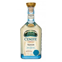 Cenote ReposadoEs un tequila 100 Agave Azul Tequilana Weber ultra premium inspirado en la belleza de la peninsula de Yucatan Ll