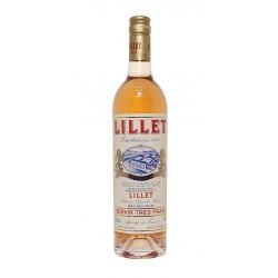 El Vermouth Lillet Rose es un vermouth seco producido en Podensac en la region francesa de BurdeosVariedad de uva Merlot Semill