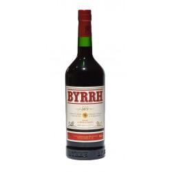 Licor Byrrh es una mezcla de vino tinto y quinina o agua tonica Byrrh fue creado en 1886 Fue muy popular como aperitivo frances