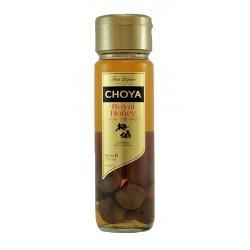 Licor Umeshu Royal Honey  su maceracion es de 2 a 3 anos Tambien se elabora sumergiendo las frutas primero en alcohol 40 y haci