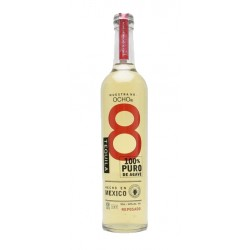 El Tequila Ocho Reposado es uno de los pocos tequilas que siguen haciendose de manera artesanal con una gran calidad que acentu