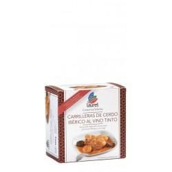 Carrilleras de Cerdo Iberico al Vino Tinto Laurel elaboradas de forma tradicional con productos de excelente calidad por Conser