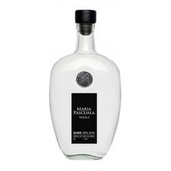 Tequila Maria Pascuala Blanco es un tequila premium cristalino hecho de 100 agave azul Su sabor extremadamente suave contiene n