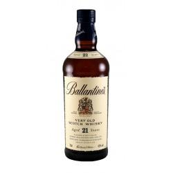 Whisky Ballantines 21 Anos es una bebida indulgente para celebrar en ocasiones especiales La riqueza del sabor picante viene de