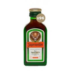 Miniatura Licor Hierbas Jagermeister 96 Unidades es el nombre de la variedad premium de Jagermeister una decision arriesgada y
