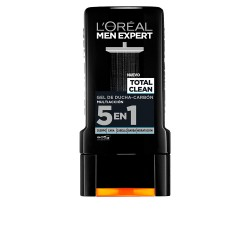 MEN EXPERT gel douche total clean carbón 300 ml