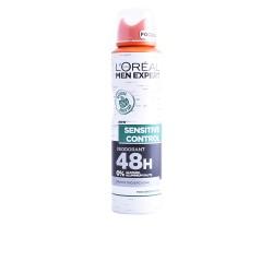 MEN EXPERT SENSITIVE CONTROL 0% anti-perspirant deo vaporisateur