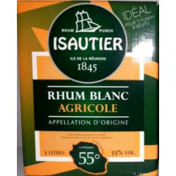 Cubi Rhum Isautier Blanc...