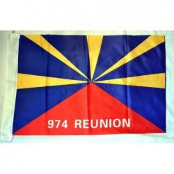 Drapeau la Réunion 974...